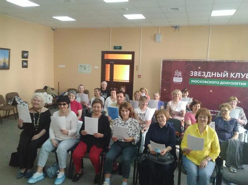 Илонна Багрий показала участникам проекта «Сохраним голос молодым» упражнения для продления молодости голосовых связок