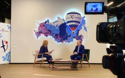 «Лидеры в эфире Leaders Talk» с Ариной Шараповой