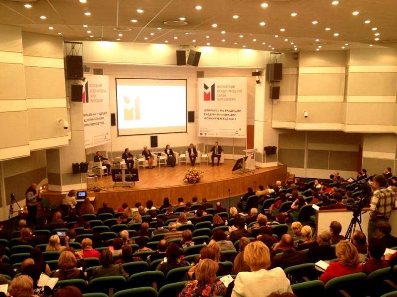 На Московском международном салоне образования представили программу «Образование на русском»