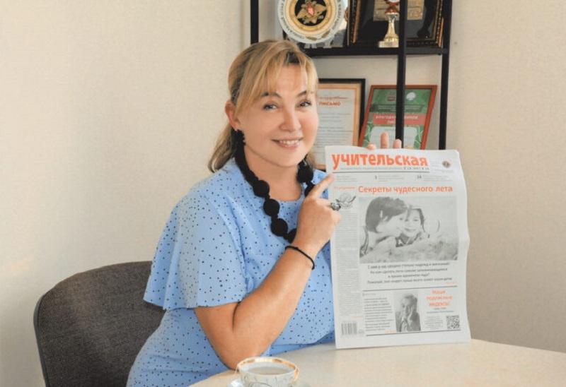 Арина Шарапова рассказала «Учительской газете» о своей школе, её проектах и телевидении