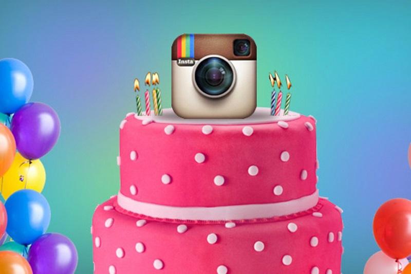 День рождения Instagram