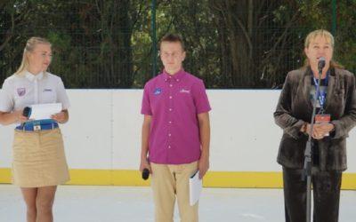 Арина Шарапова открыла ледовый каток в Артеке